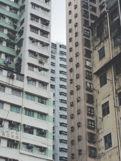 Our gap Built Structure EyeEm Best Shots EyeEm Best Edits Building HongKong Culture Architecture City Kwun Tong Old And New Check This Out Old And New Architecture Apartment From My Perspective Perspective Architectural Detail Urban Photography In Hong Kong The Week On EyeEm