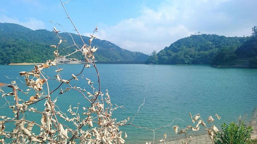 Mountain Water Lake Beauty In Nature Nature Sky No People Outdoors Day Environmental Conservation Sky And Sea Shing Mun Reservoir Hong Kong Nature Of Beauty Harmony With Nature Tranquility Beauty In Nature Nature Sea Reservoir Freshness