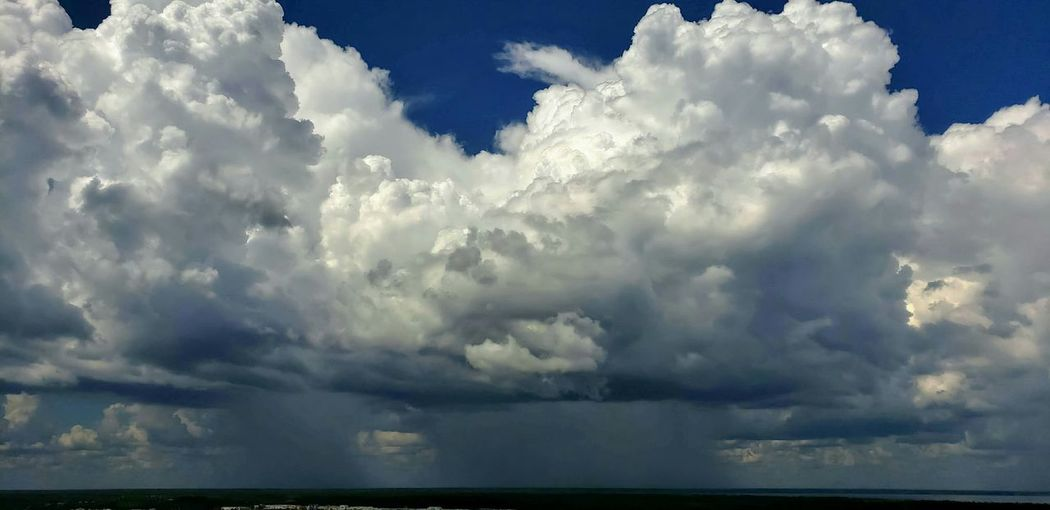 Thunderstorm Storm Cloud Blue Mountain Sky Cloud - Sky