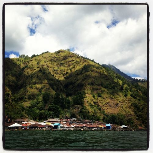 Kintamani Lakeview Things That Are Green Beauty On Duty Iphone 5 Panorama