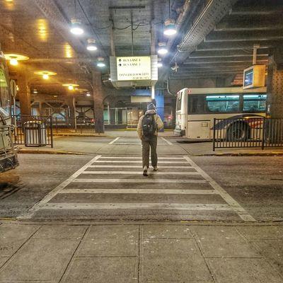 Early mornings at Newark Penn Station. Newark Pennstation Njtransit Commuter Early Morning