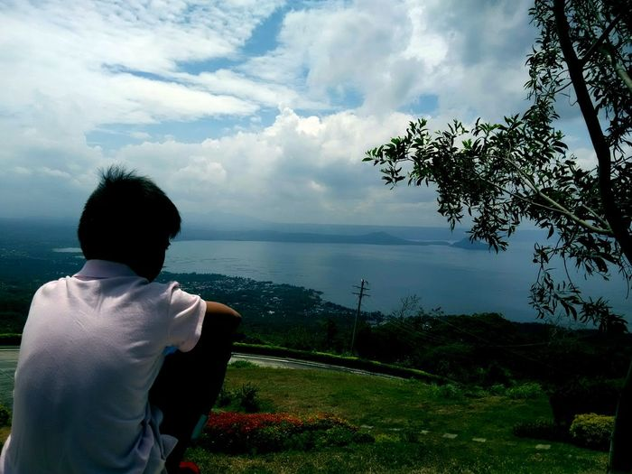 """TCPM """"A Child's Imagination..."""" Water Sky Nature Tree Outdoors Look Ph Nature Flower Green Cloud Day Natural Growth Beauty In Nature Taal Pure Mind Gone Wild Child Peace Summer Scenery Taking Photos"""