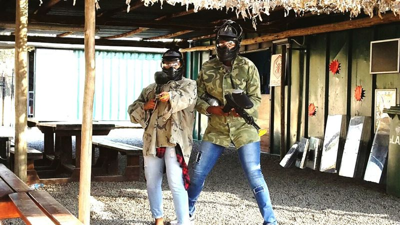 My woe❤ Paintballing Goodcleanfun