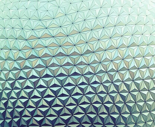 Epcot, Orlando Florida. Smart Simplicity Textures And Surfaces