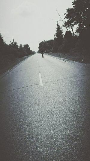 Roads B&w Photography Fliters