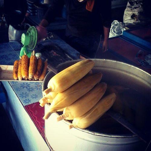 Jagung Rebus :D Instanusantara Corn Kabanjahe Berastagi hot delicious instamedan indonesia_photography
