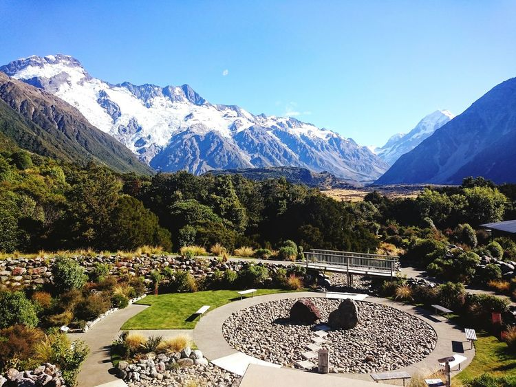 A beautiful memory from my travels in New Zealand 📷 🗻 Mountain Mountain Range Snow Scenics Landscape Nature Day Beauty In Nature Outdoors No People Mountain Peak Tranquility Tree Sky Clear Sky New Zealand Scenery Mount Cook NZ Beauty Of Nature