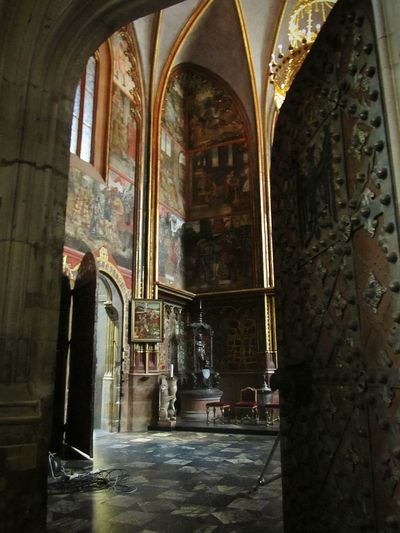 Ad un passo Prague Praha Czech Republic Cathedral Church Door Architecture Behind The Door Ancient Church