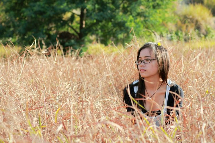 秋野人像 People Photography Girl Beauty Portrait 365 Project Of Virgolcj 行色摄影 Autumn Autumn Colors What I Value 西南林业大学