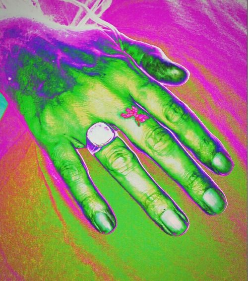 Green Color Ring Human Body Part Human Hand Hold On Forever Holdmyhand