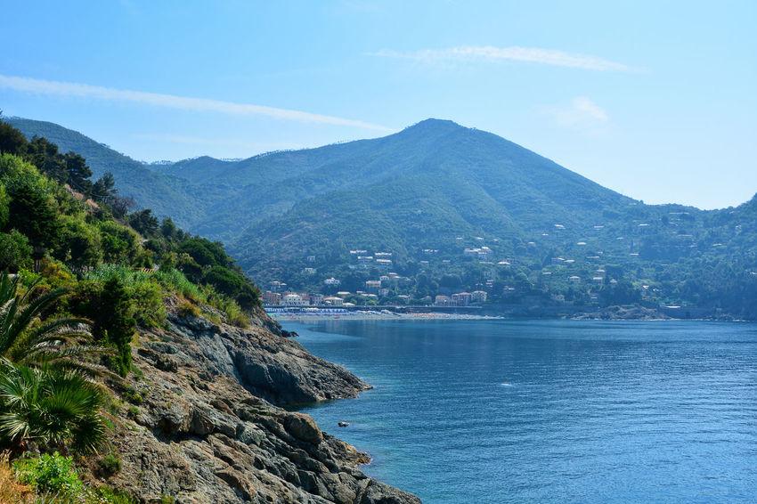 Endless Summer - Bonassola, Liguria, Italy. Beauty In Nature Blue Bonassola Italia Italy Landscape Liguria Mountain Nature No People Outdoors Scenics Sea Seascape Sky Tranquil Scene Tranquility Water Waterfront