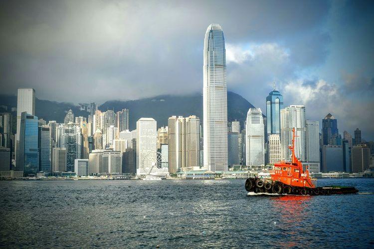 Hong Kong Ifc Building Victoria Harbour Pmg_hok