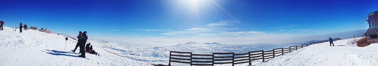 On Top Of The World Snowboarding LiveLoveLebanon