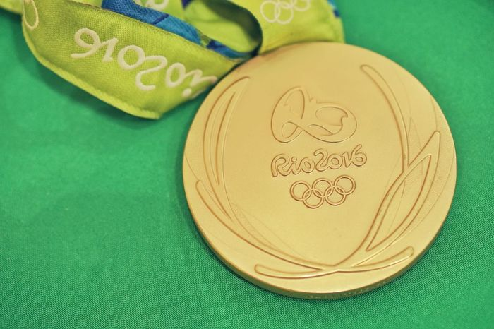 Close-up Medal Olimpiadas2016 Rio2016