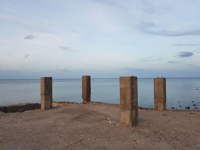 The beach I've