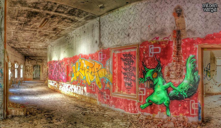 mad hulk squirrel Royalsnappingartists Germandecay Graffiti Urbex