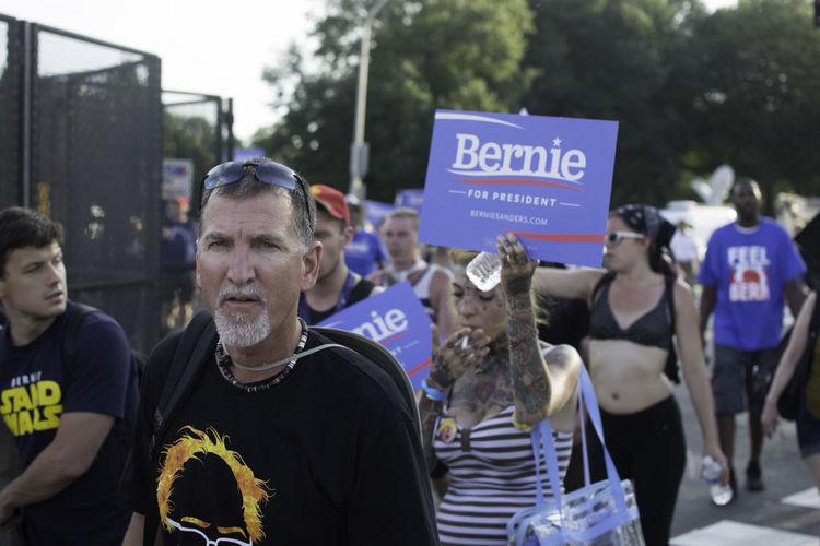 Bernie Sanders Bernie2016 Democracy DNC Philadelphia Protest Protesters The Photojournalist - 2017 EyeEm Awards The Street Photographer - 2017 EyeEm Awards
