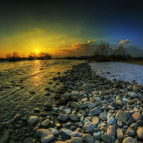Sky HDR Landscape Sunset