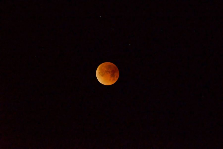 Lunar Eclipse Astronomy Beauty In Nature Blood Moon Bloodmoon Blue Moon Circle Clear Sky Idyllic Low Angle View Moon Moon Surface Nature Night No People Outdoors Planetary Moon Scenics Sky Space Supermoon Tranquil Scene Tranquility