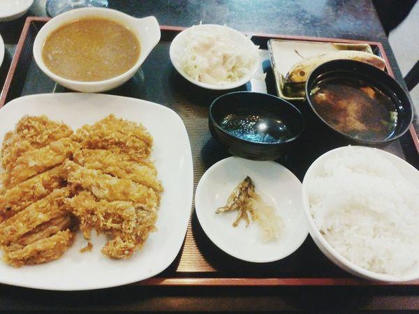 Lunchdate 😶 Foodporn Foodgasm Foodphotography Japanese Food 😚 Chickenteriyaki @ Tsuru Abreezadavao VSCO VSCOPH