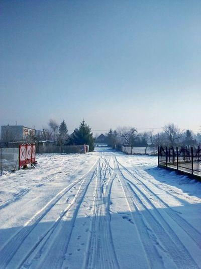 EyeEm Nature Lover Nature_collection Nature Winter Winter Wonderland Poland Sky Snow Village Beauty