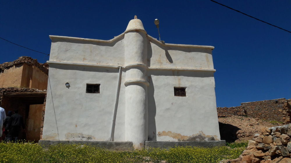 Mosque Idaougnidif Agadir Mountain Old Buildings Morocco Idaougnidif Ancestors Place Of Worship