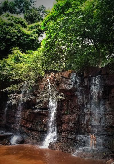 Water Nature Day Outdoors Tree Full Frame Beauty In Nature Close-up Greenery Fountain Falling Water Children Monsoon Enjoying Nature Nature Photography Natural Beauty Naturelover Waterfalls Odisha India Jharkhandtourism Temple Shiva Temple Rainy Days Forest Bathing