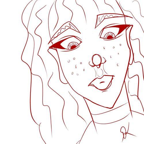 Lunch Doodle July 30th, 2015 Lunch Doodle Doodle Doodles Art ArtWork Art, Drawing, Creativity Lineart MyArt My Artwork Manga Studio