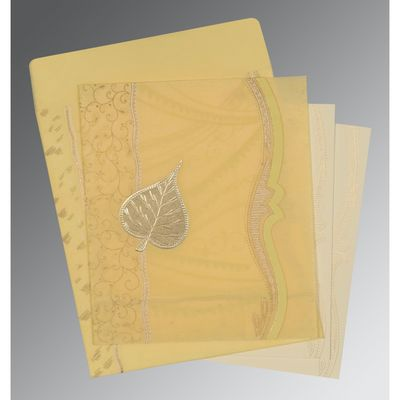 The beauteous designs of Designer Wedding Cards, General are sure to offer you a delightful treat. The ultimate selection of gold,mango color is certainly the best fit for the wedding card. The card has been constructed out of fine shimmer paper, wooly paper that assures a great quality and look. https://www.a2zweddingcards.com/card-detail/AD-8210G A2zWeddingCards Designer Invitations Designer Wedding Cards Online Designer Wedding Cards, Designer Wedding Invitations Wedding Cards Wedding Invitations Wedding Invites