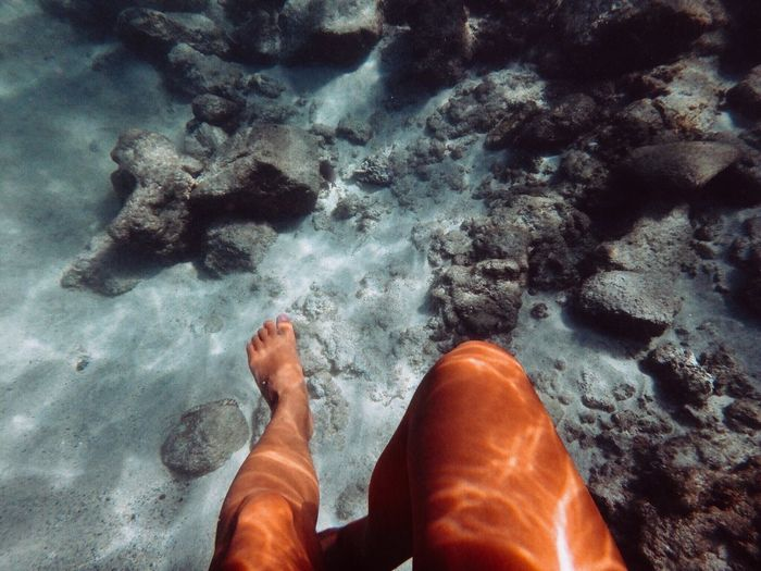 Human Leg Sea Water Underwater Feet Barefoot Wave Hawaii Aloha Alohastate Olympus Olympus倶楽部 Olympusphotography Human Body Part Surfgirl Welcomeweekly EyeEmNewHere EyeEm Gallery EyeEm Nature Lover EyeEmNewHere