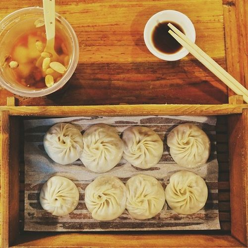 八婆婆燒仙草 & 小籠湯包  廈門  中山路 Xiamen China