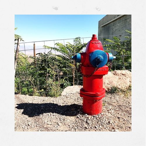 Fire Hydrant Safety Protection Outdoors No People Day Youmobile Shootermagazine Streamzoofamily Shootermag_usa IPhone7Plus Bright Colors Hipstamatic Jerome, Arizona