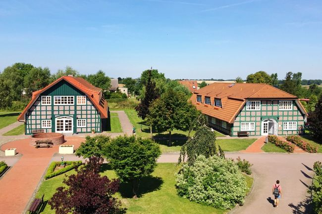 Good Morning The View From My Window Enjoying Life Relaxing Uckermark Brandenburg Half-timbered Old Houses