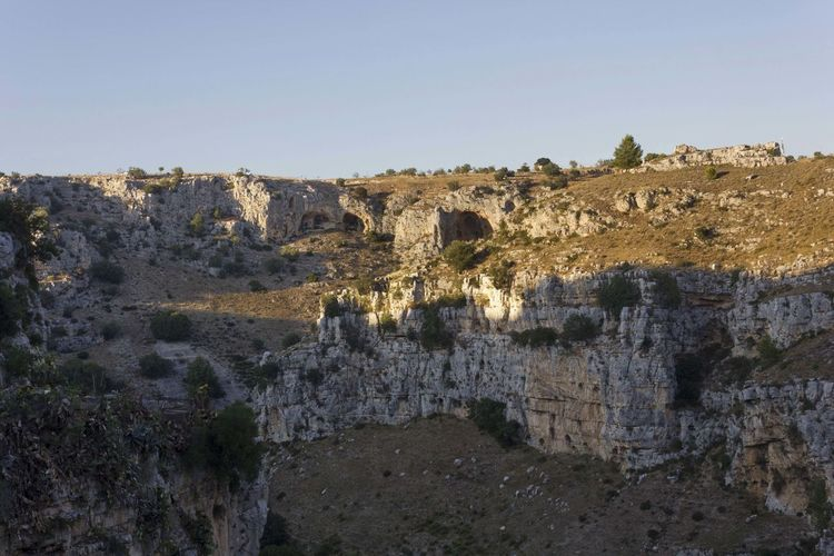 Matera Italy Unesco UNESCO World Heritage Site Murgia Outdoors Sky Architecture Built Structure History The Past Clear Sky Nature Building Exterior Ancient No People Environment Copy Space Old Ruin Day Wall Landscape Old Land Scenics - Nature Ancient Civilization Ruined