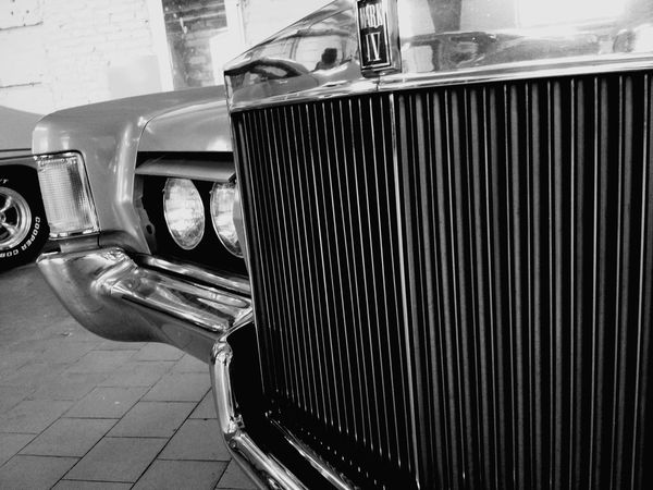 Old Car Lincoln Black & White New Talents Black And White New Talent