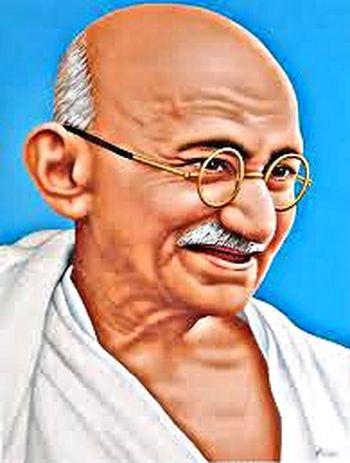 Mahatma Gandhi Quotes Portrait Photographic Memory Photography