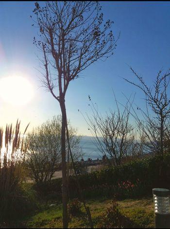 Florya Sky Sunlight No People Blue Day
