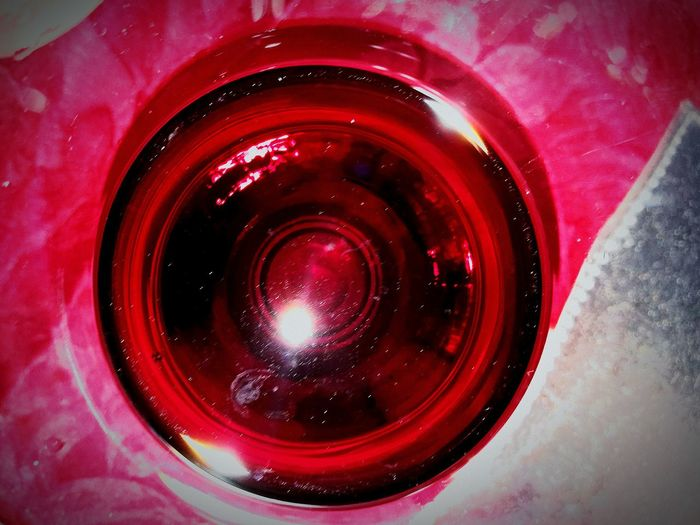 Red Wine Red And Silver Wine Glass