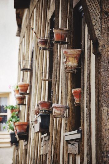 Great Wall of pots Chartres