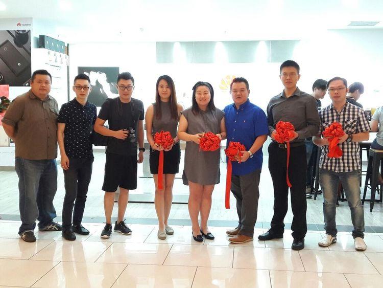 Huawei experience store grand opening in The Summit Subang USJ, Subang Jaya, Selangor