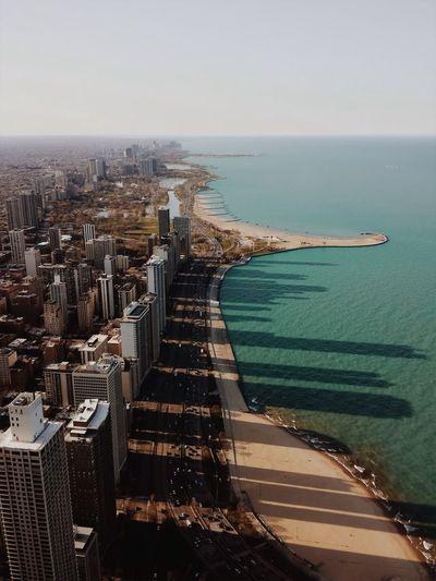 City on a seaside