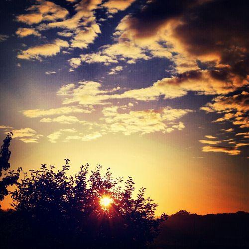 Sunrise Enjoying The Sun Love It Clouds And Sky Beautiful View
