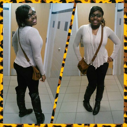 Today at ma future school lookin like my Mommie