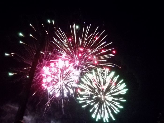 Firework Display Celebration Night No People Firework - Man Made Object Outdoors Multi Colored Sky 14 Juillet 2017 Firework 14thJuly Event Celebration Illuminated Glowing Colour Of Life