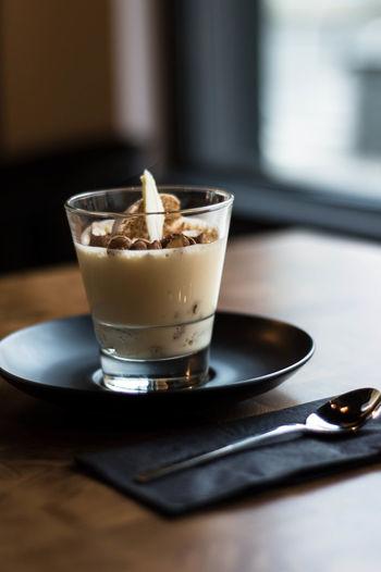 Dessert Gingerbread Mousse Whitechocolate