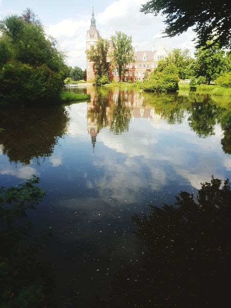 Reflection Water Architecture Outdoors Schloss Park Castle Castle Park The Week On EyeEm