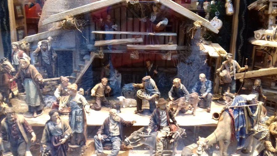 Krippenfiguren KRIPPE Krippenfiguren Presepe Weihnachten Christmas Star Of Glory Bethlehem Stall Animals Jesus Geburt Christi Outdoors Day No People Built Structure Architecture Building Exterior
