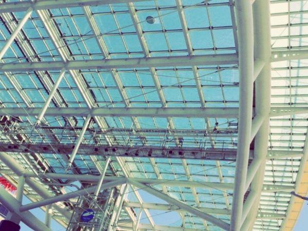 あ、天井がゆらゆらしてる Nagoya Oasis21