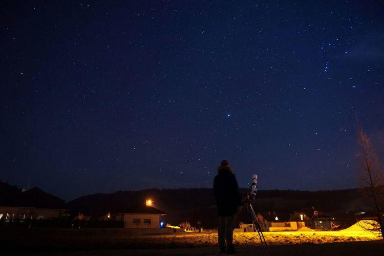 Backyard astrography Astronomy Star - Space Galaxy Milky Way Illuminated Tent Men City Sky Space And Astronomy Constellation Astrology Astrology Sign Sagittarius Space Exploration Star Field Star Trail Infinity