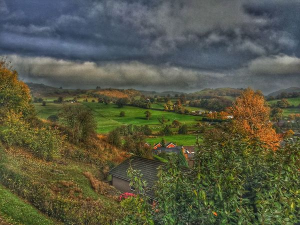 View from St. Myllins well Countryside Landscape HDR EyeEm Nature Lover Eye4photography
